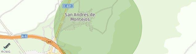 Mapa San Andres de Montejos