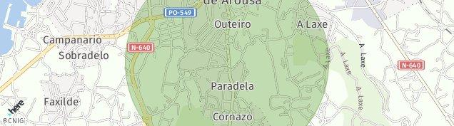 Mapa Vilagarcia