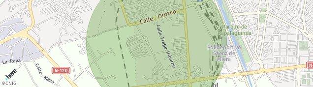 Mapa Trobajo del Camino