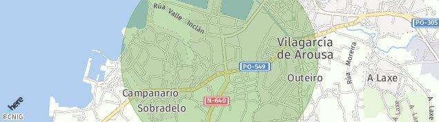 Mapa Vilagarcía de Arousa