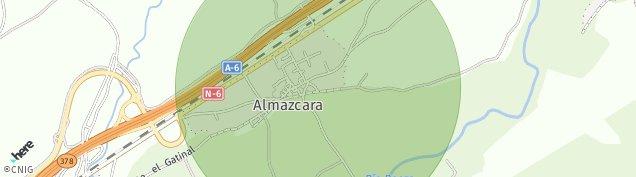 Mapa Almazcara