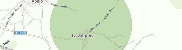 Mapa La Valgoma