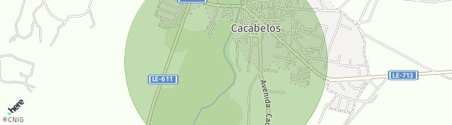 Mapa Cacabelos