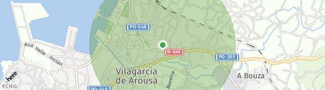 Mapa Arealonga