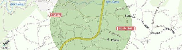 Mapa Chantada
