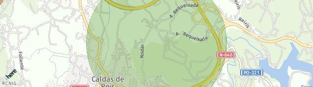 Mapa Caldas de Reis