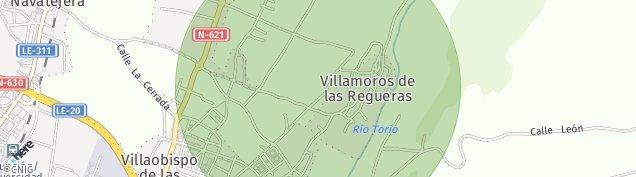 Mapa Villaobispo de Las Regueras