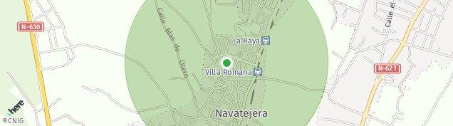 Mapa Navatejera