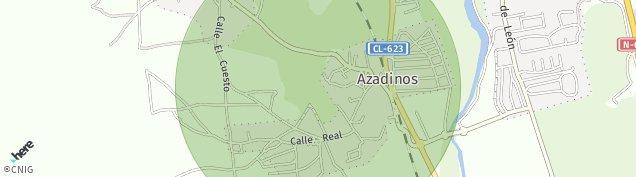 Mapa Azadinos