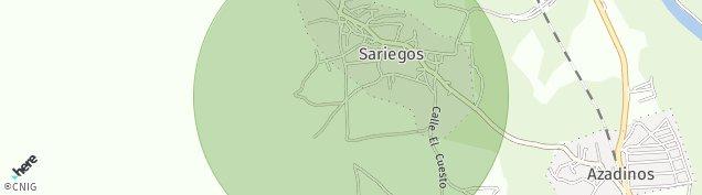 Mapa Sariegos del Bernesga