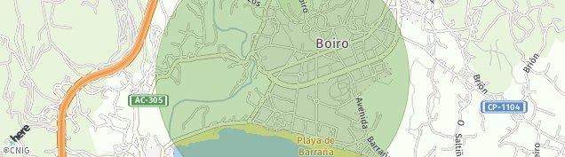 Mapa Boiro