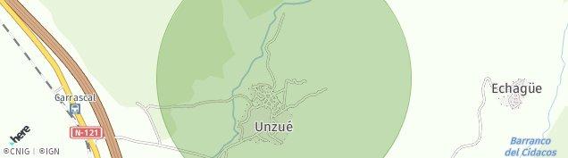 Mapa Unzue