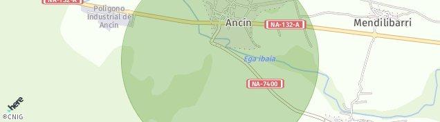 Mapa Ancín