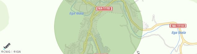 Mapa Ayegui