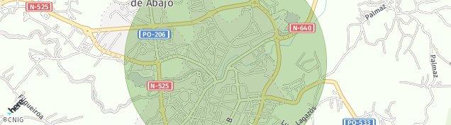 Mapa Lalín