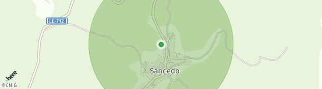 Mapa Sancedo