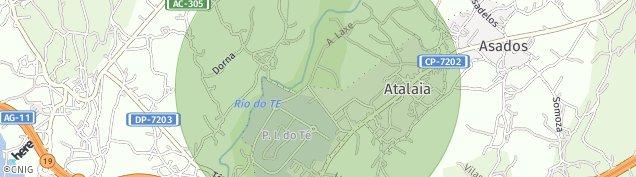 Mapa Barral