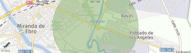 Mapa Miranda de Ebro