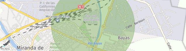 Mapa Bayas