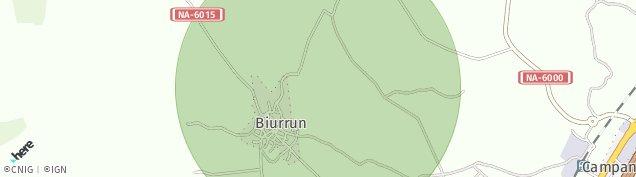 Mapa Biurrun