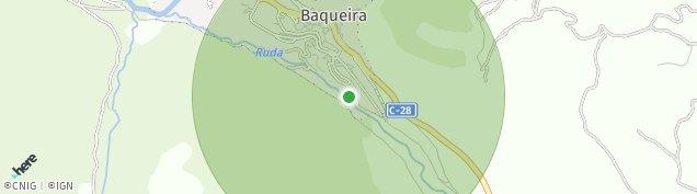 Mapa Baqueira