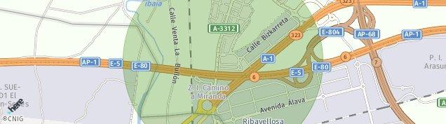 Mapa Rivabellosa