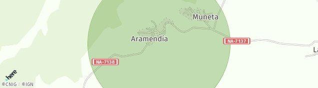 Mapa Aramendia