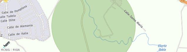 Mapa Imarcoain