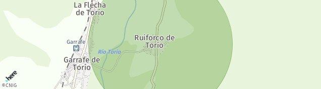 Mapa La Flecha de Torio