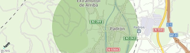 Mapa Iria Flavia
