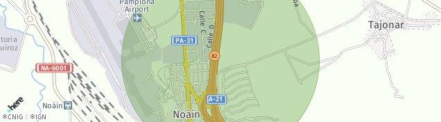Mapa Noain