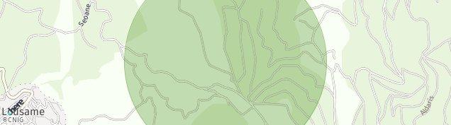 Mapa Lousame