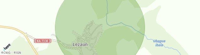 Mapa Lezáun