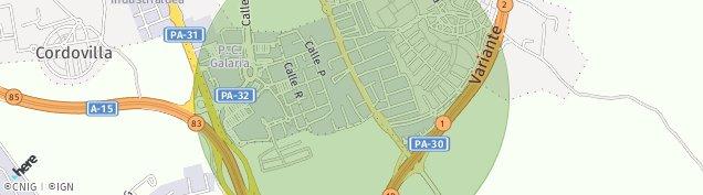 Mapa Cordovilla