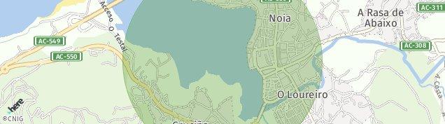 Mapa Noia