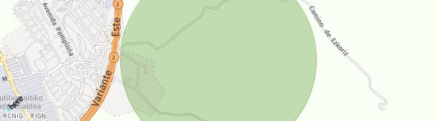 Mapa Badostain