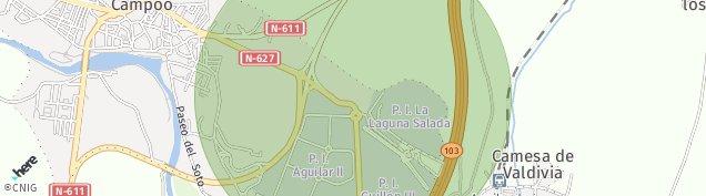 Mapa Aguilar de Campoo