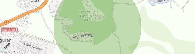 Mapa Sarriguren