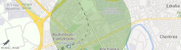 Mapa Pamplona