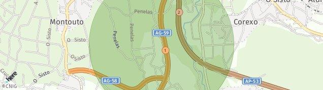 Mapa Parque Montouto