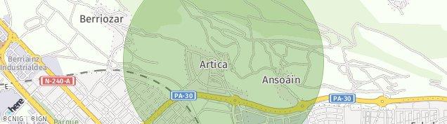 Mapa Artica