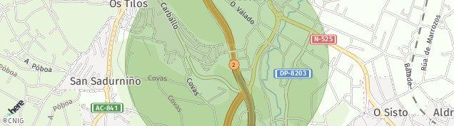Mapa Os Tilos
