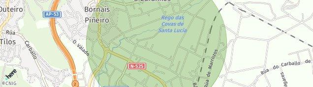 Mapa A Veiga