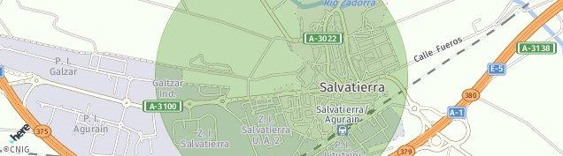 Mapa Agurain