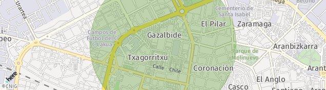 Mapa Vitoria-Gasteiz