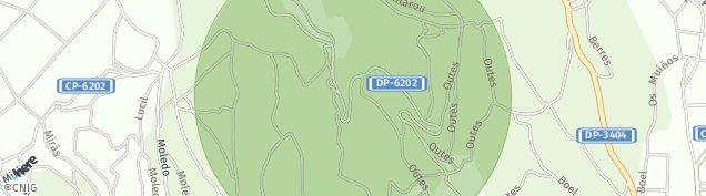 Mapa Outes