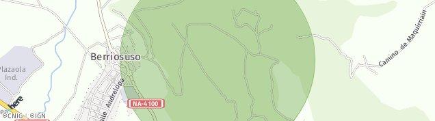 Mapa Aizoain
