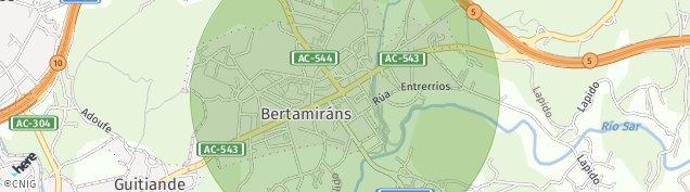 Mapa Bertamirans