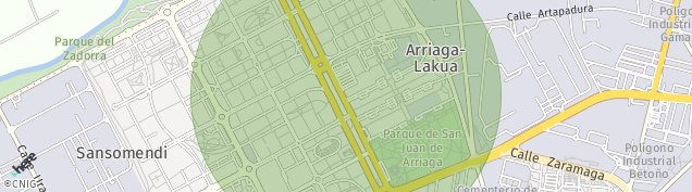 Mapa Centro Militar Araka