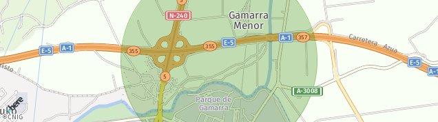 Mapa Gamarra Mayor